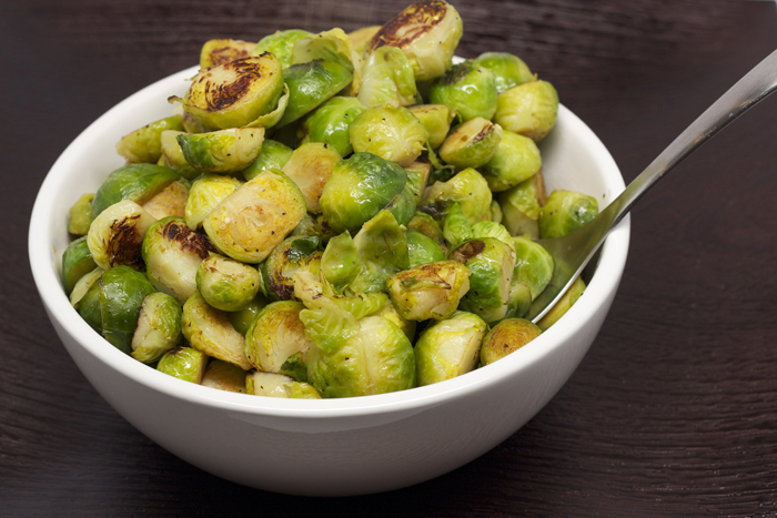 Brussels Sprouts with Proscuitto
