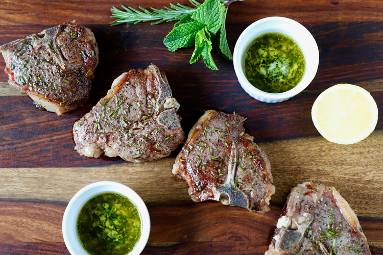 lamb-chops-with-mint-butter-sauce-recipe